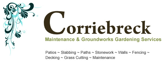 Corriebreck Maintenance & Groundworks Gardening Services